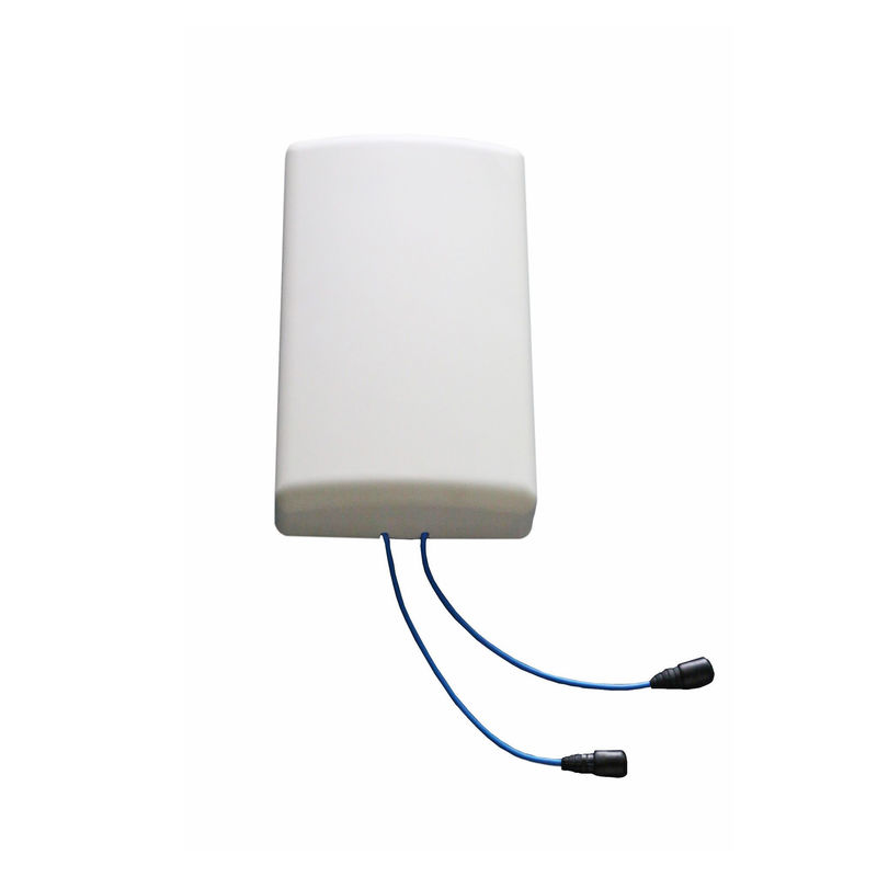 Wireless Wlan Patch Panel Antenna , 698 - 960 / 1710 - 2700 MHz Cellular Patch Antenna