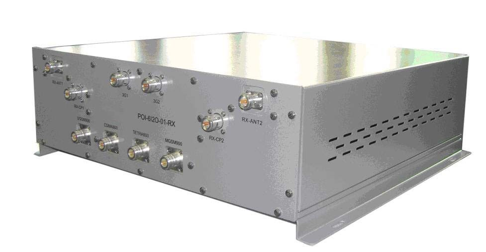 Point de rf DCS/UMTS POI d'Interface8 DANS le combinateur 3x1800MHz et 3x2100MHz de 2 POI