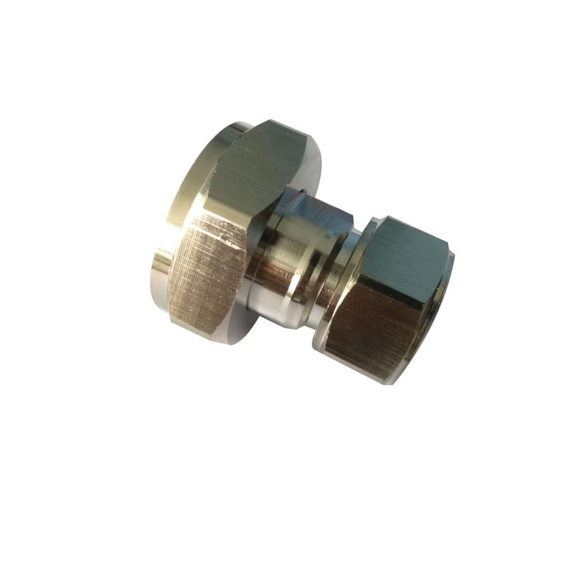 Rf coaxial connector Mini Din 4.3-10 straight male to 7/16 Din Male  Adaptor
